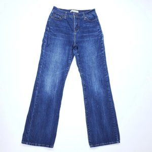 Levis 512 BCut Perfectly Slimming Womens 6 Jeans